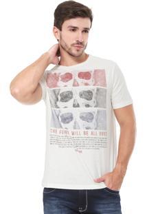 Camiseta John John Future Off-White