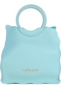 Bolsa Petite Jolie Shopper Curly Feminina - Feminino-Verde