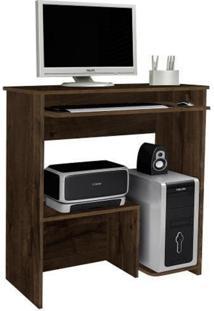 Escrivaninha Mesa Para Computador Iris Cacau Jcm Movelaria