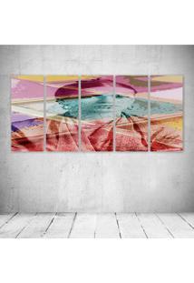 Quadro Decorativo - Frida Retro - Composto De 5 Quadros - Multicolorido - Dafiti