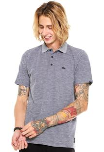 Camisa Polo Quiksilver Hill Cinza