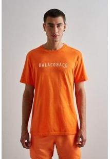 Camiseta Reserva Est Balacobaco Carnaval19 - Masculino-Laranja