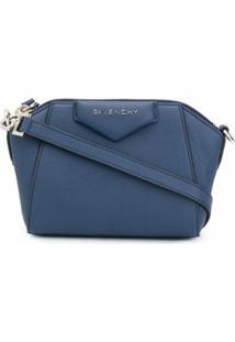 Givenchy Bolsa Transversal Antigona - Azul