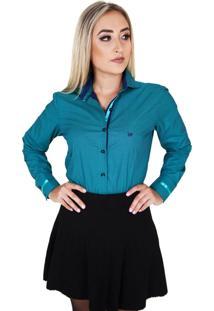 Camisa Lupim Verde/Marinho