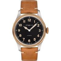 4bd89c1da0c Relógio Montblanc Masculino Couro Marrom - 116241