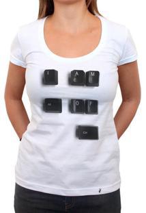 Alt Of Ctrl - Camiseta Clássica Feminina