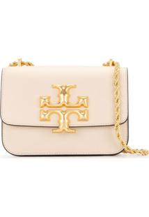 Tory Burch Bolsa Tiracolo Eleanor Pequena - Neutro