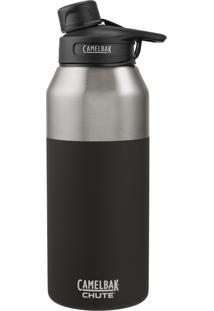 Garrafa Térmica Camelbak 1,2L Chute Vacuum Insulated Stainless Preto