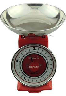 Balança De Cozinha Benoá Nr-Cy-Red 5Kg