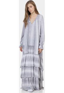 Vestido Longo Juliana Jabour Ophidia - Lez A Lez