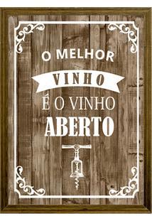 Quadro Porta Rolhas 22X27 67286-Kapos - Natural