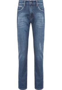 Calça Masculina Jeans Ronas - Azul