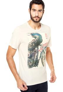 Camiseta Triton Moto Off White