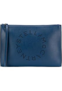 Stella Mccartney Clutch Stella Grande - Azul