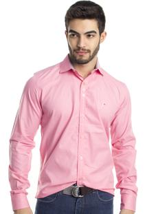 Camisa Tony Menswear Slim Fit Azul
