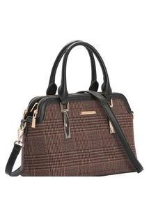 Bolsa Feminina Chenson Xadrez De Mão 3483007