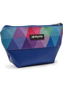 Necessaire Newland Annie Média Azul