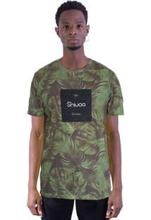 Camiseta Shivoo Comfort Tropical Generation Verde