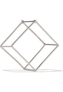 Shihara Brinco Único 'Square' De Ouro 18Kt - White Gold