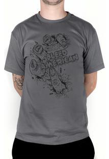 Camiseta Bleed American Zombie Chumbo
