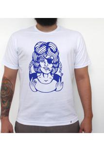 Pinup Fuckyou - Camiseta Clássica Premium Masculina