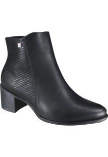 Bota Ramarim Total Comfort Ankle Boot Feminina