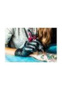Painel Adesivo De Parede - Tatuagem - 1190Pnp