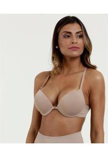 Sutiã Modelo Nadador Super Bojo Marisa Feminino - Feminino-Bege