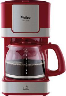 Cafeteira Philco Ph31 Inox Vermelha 127V