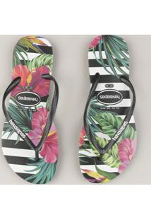 e15f521897 Chinelo Floral Havaianas feminino
