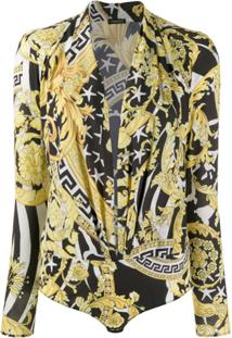 Versace Baroque Pattern Body - Preto