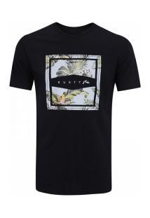 Camiseta Rusty Aloha Feeer - Masculina - Preto