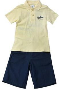 Conjunto Camiseta E Bermuda - Masculino