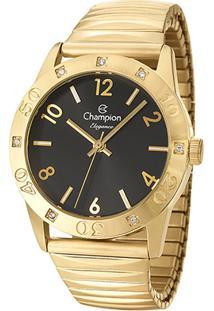 Relógio Champion Analógico Cn27849U Feminino - Unissex-Dourado