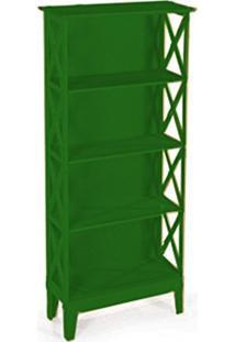 Cristaleira Colonial 2 Portas Atz 81 - Verde