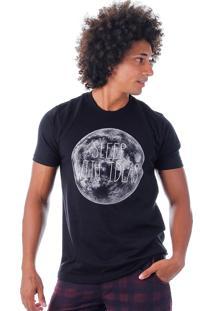 Camiseta Masculina Rufus - Preto
