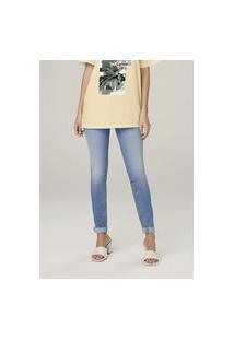 Calça Jeans Super Skinny Cintura Alta - Azul
