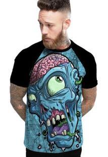 Camiseta Stompy Raglan Modelo 40 Masculina - Masculino