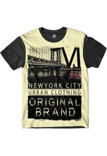 Camiseta Bsc New York City Original Sublimada Masculina - Masculino