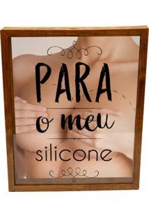 Quadro Porta Dinheiro Prolab Gift Silicone Tabaco - Bege/Marrom/Preto - Dafiti