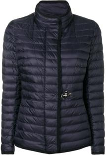 Fay Short Padded Jacket - Azul