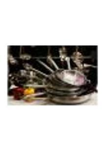 Painel Adesivo De Parede - Cozinha - Restaurante - 1254Pnm