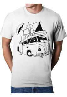 Camiseta Hshop Kombi Branca