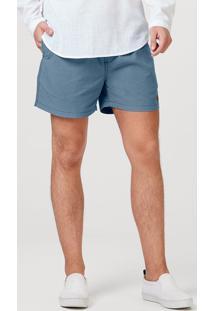 Shorts Curto Masculino Em Tecido Texturizado