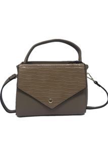 Bolsa Pequena Casual Importada Sys Fashion 2740 Caqui