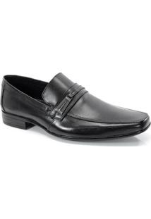 Sapato Social Calvest Tira E Fivela Preto - 2280B980
