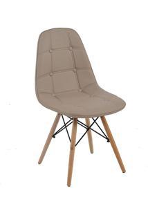 Cadeira Sem Braço Eiffel Botone-Rivatti - Nude
