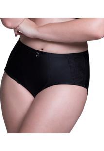 Calcinha Beline Plus Size Cinta Marcyn - Feminino-Marrom