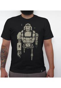 Daileon - Camiseta Clássica Masculina