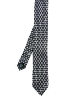 Dolce & Gabbana Gravata De Seda - Preto